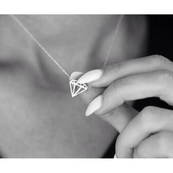 nail polish nail jewels diamonds fancy bracelets necklace