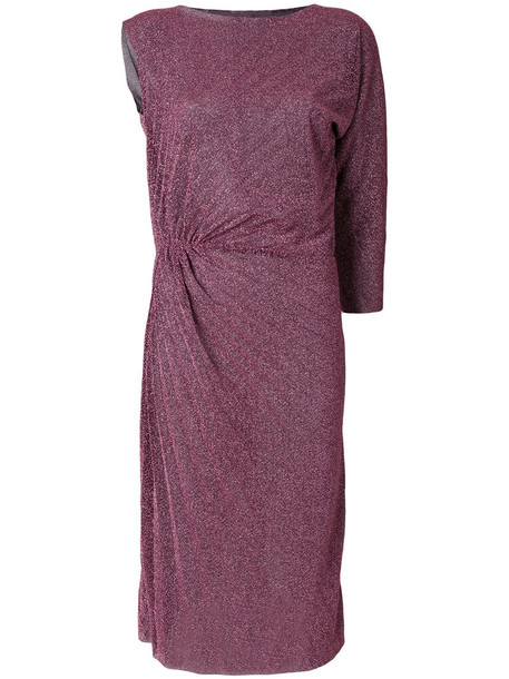 A.F.VANDEVORST dress glitter dress glitter women purple pink