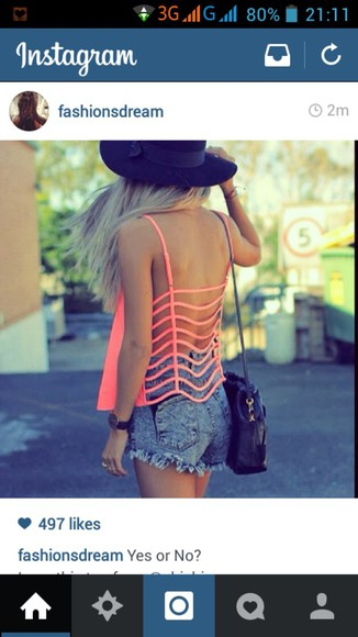 neon orange aw style girly summer outfits summer cloathes cloathes