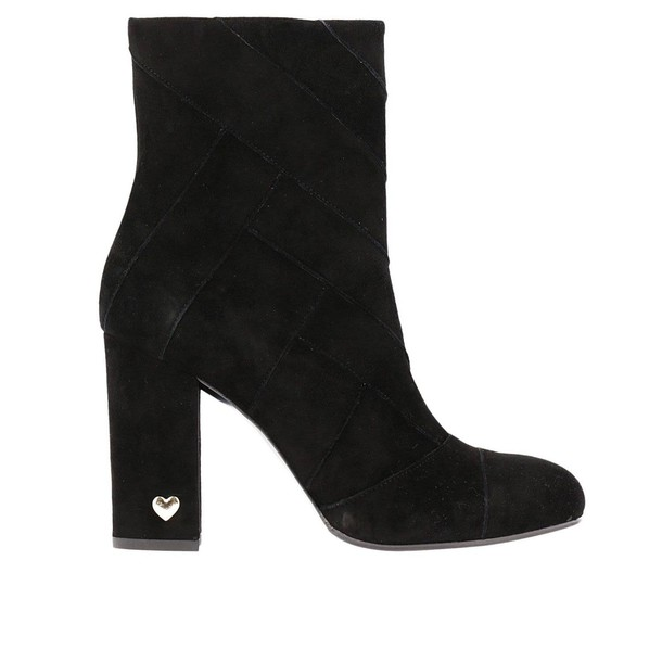 Twin-Set women booties black shoes