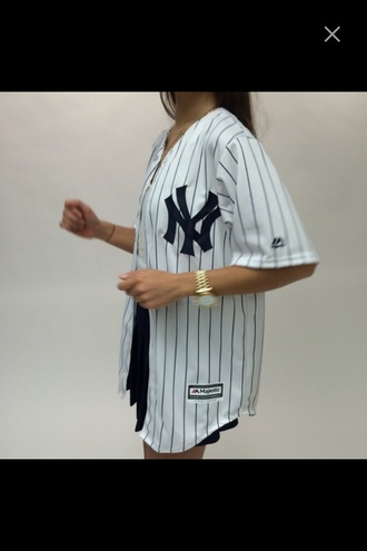 shirt baseball jersey tumblr baseball tee button up jersey tumblr worthy stripes sporty sporty jersey