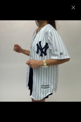 shirt baseball jersey tumblr baseball tee button up jersey tumblr worthy stripes sporty sporty jersey