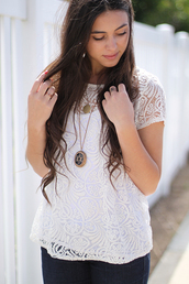 top,delicate laced blouse,buy delicate laced blouse