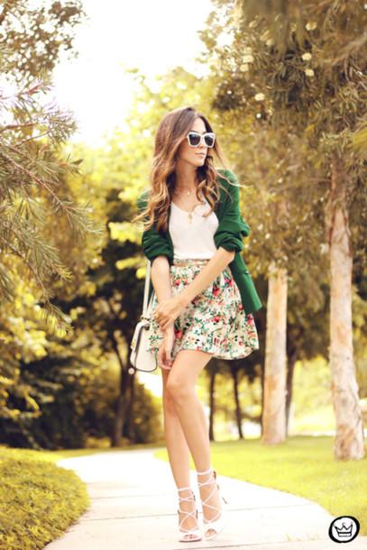 fashion coolture skirt t-shirt jacket jewels bag sunglasses shoes