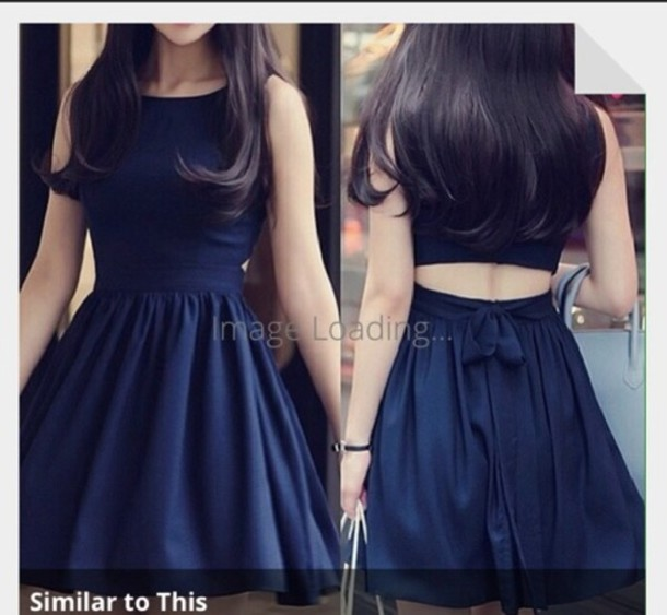 dress black little black dress pretty blue floral cute pink outfit skater dress black flare dress short dress navy dark blue dress royal blue dress cut-out dress dreas blue dress girly love top perfect backless vintage trendy lulla party dress
