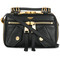 Moschino - biker shoulder bag - women - leather - one size, black, leather
