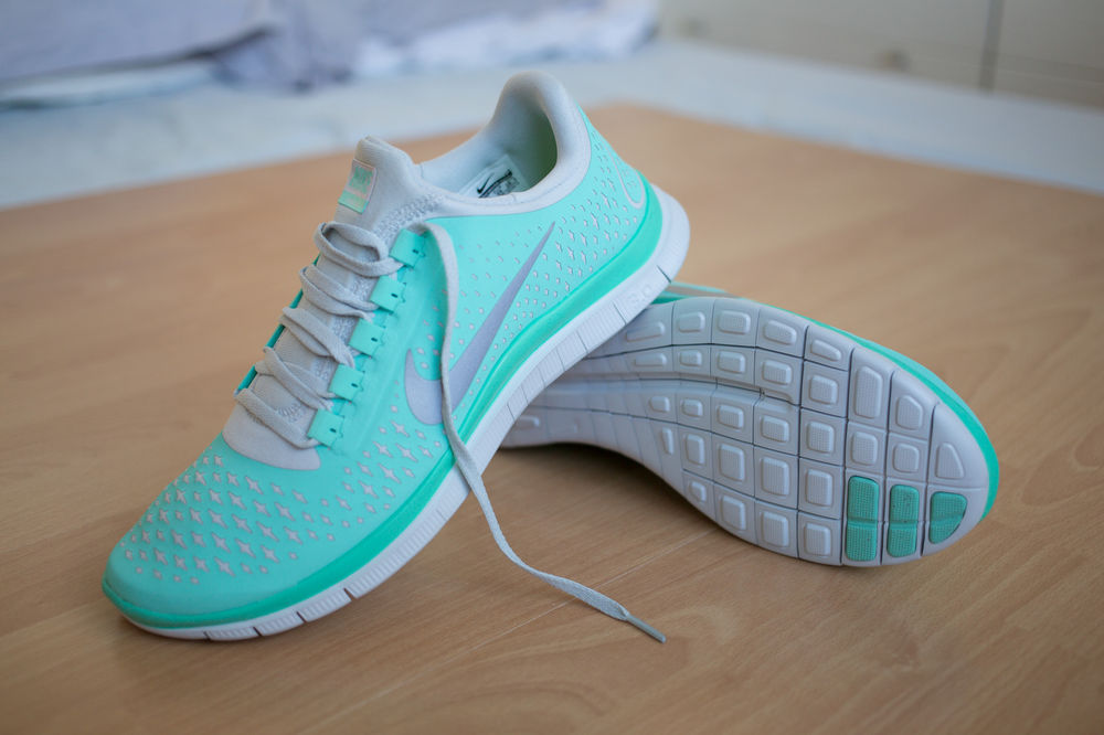 Nike Free Run 3 0 V4 Trainers UK 8 5 Turquoise Tropical Twist Pink Huarache | eBay