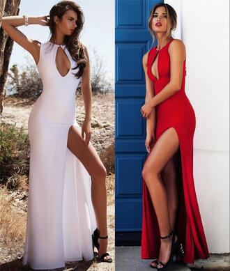 dress 2016 lurelly wedding dresses beach wedding dress formal evening dresses sexy high split wedding dresses