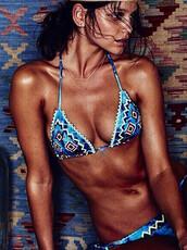 swimwear,mynystyle,tribal pattern,girly,casual,beach