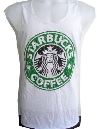 Amazon.com: MEN'S TANK TOP Men's Starbucks Coffee Sleeveless Tank Top T-Shirt: Clothing