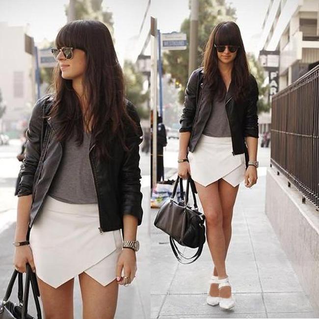 Hot Fashion Women's Lady Must Have Wrap Irregular Mini Short Skirt XS s M L XL | eBay
