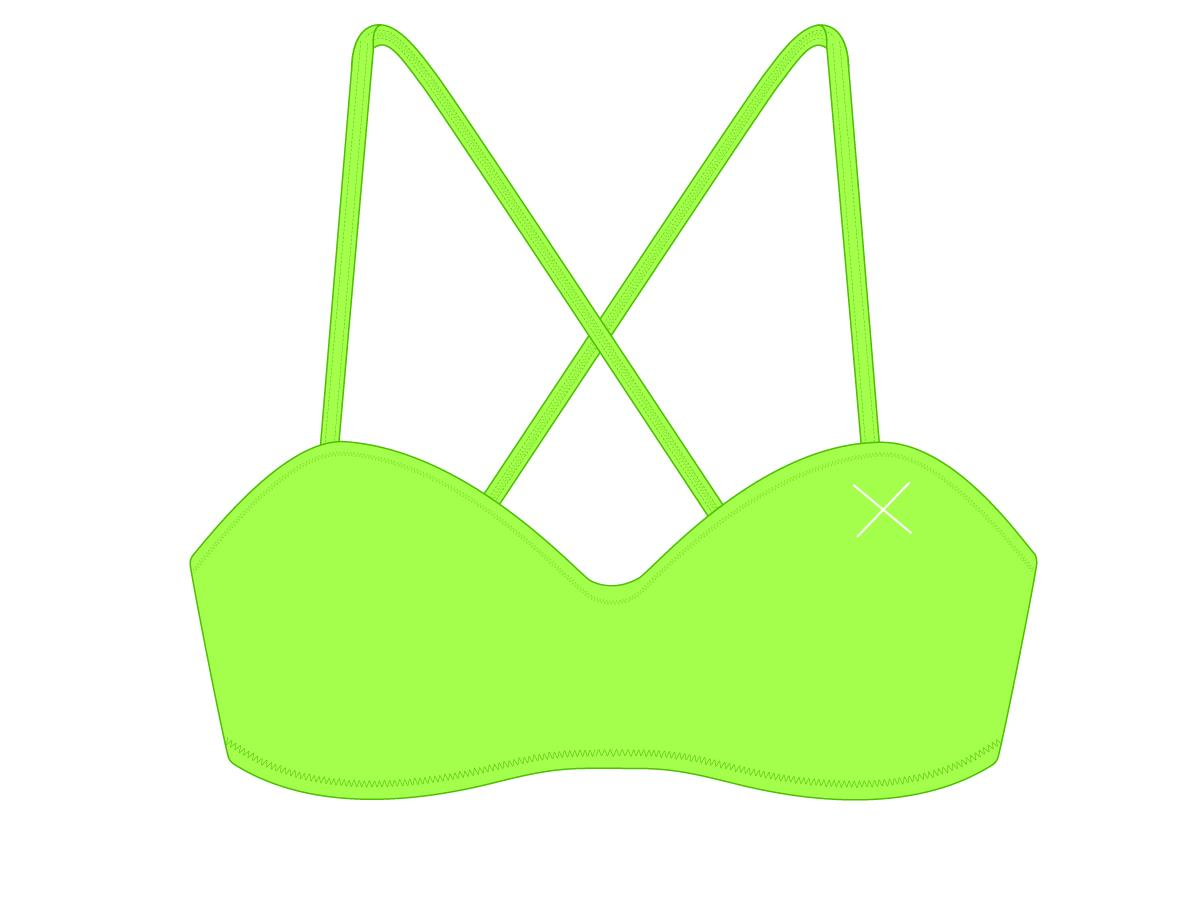 Lime Green X-Fit Top