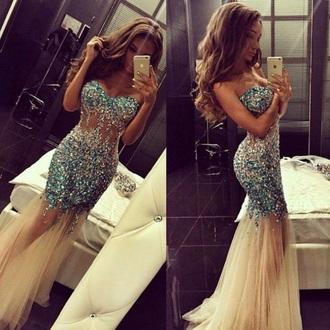 dress prom prom dress blue prom dress blue dress sleeveless dress