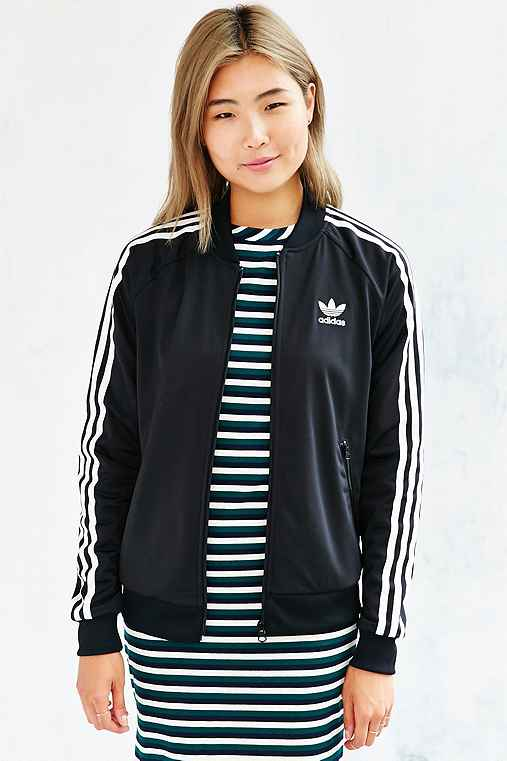 e1275034 adidas Superstar Track Jacket - Urban Outfitters