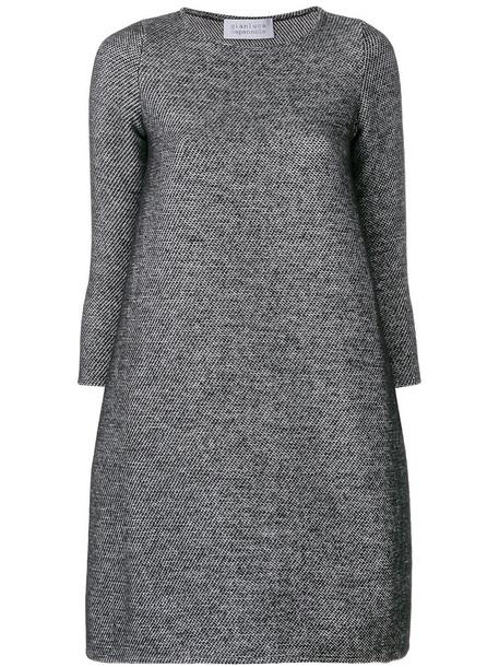 dress women black wool