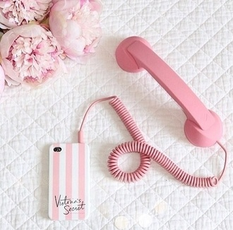jewels victoria's secret phone cover old phone vintage technology girly wishlist home accessory vintage dope pink phone iphone ios cool hipster phone accessory love apple cute