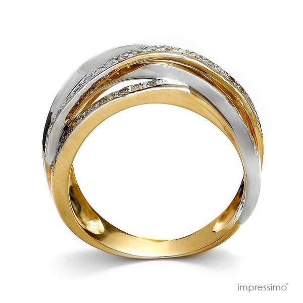 jewels 50 diamonds impressimo engagement ring pierścionki zaręczynowe gold ring