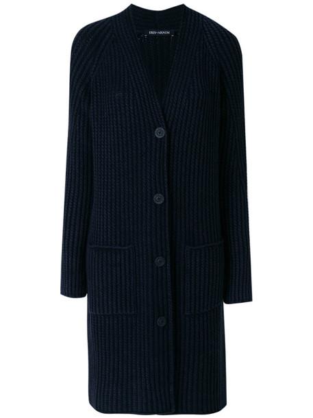 Iris von Arnim cardigan cardigan women blue knit sweater
