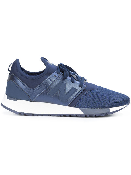 New Balance women classic sneakers leather shoes