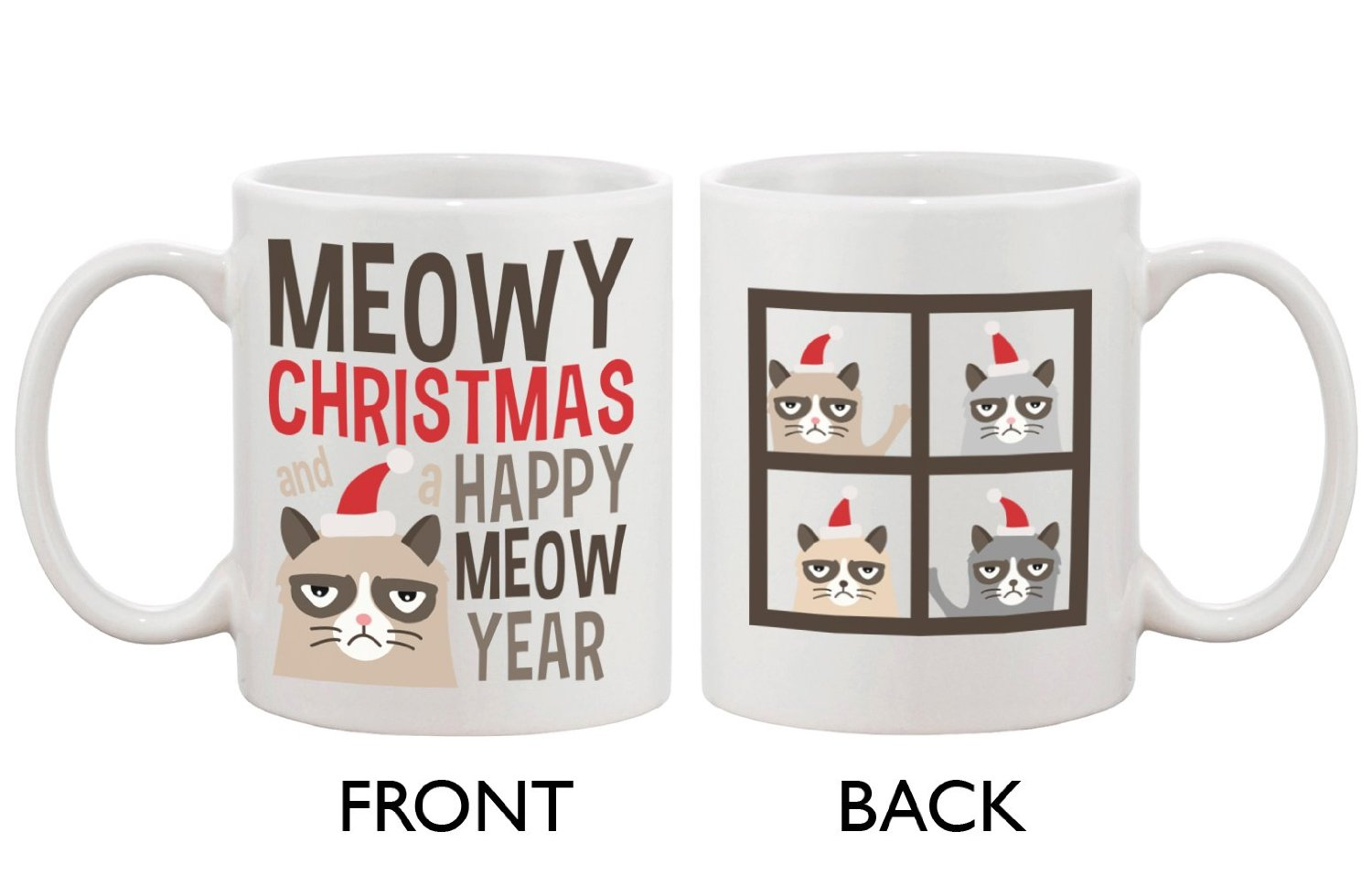 Meowy christmas and a happy meow year: kitchen & dining