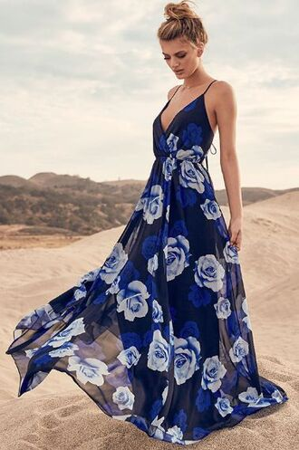 dress clothes flowy dress flowy blue dress flowers floral dress