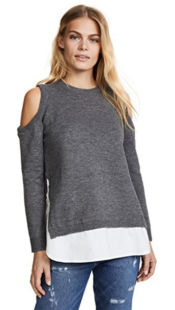 Re:Named sweater cold grey heather grey