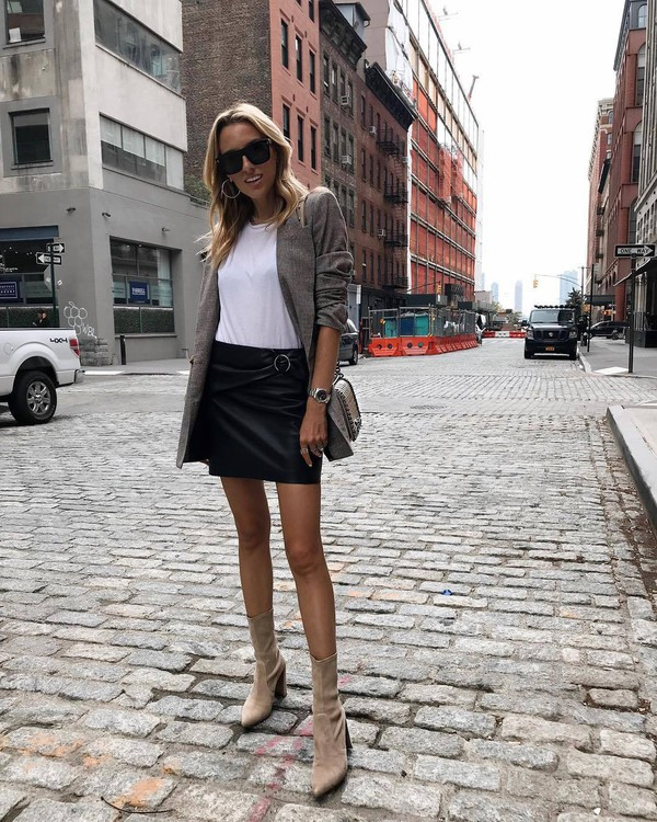 99ef9a922 shoes black skirt tumblr boots nude boots skirt mini skirt leather skirt  black leather skirt t