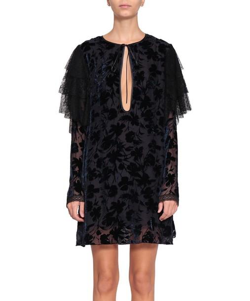 AU JOUR LE JOUR dress velvet dress velvet