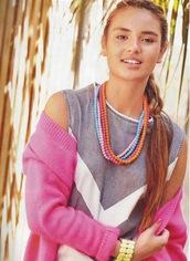dress,neon,pastel,colorful,pretty,girly,print,pink,urban,bright,geometric,cardigan