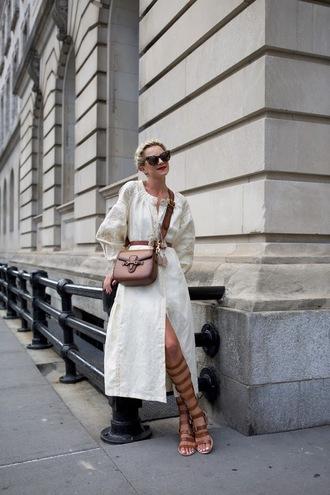 atlantic pacific blogger dress bag belt shoes sunglasses vintage gucci
