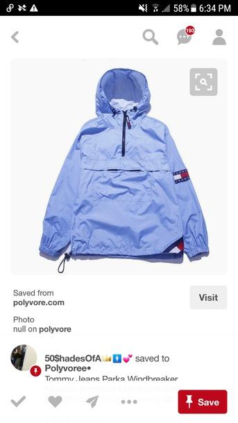 jacket pastel blue