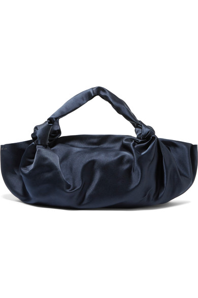 The Row - Ascot medium silk-satin tote