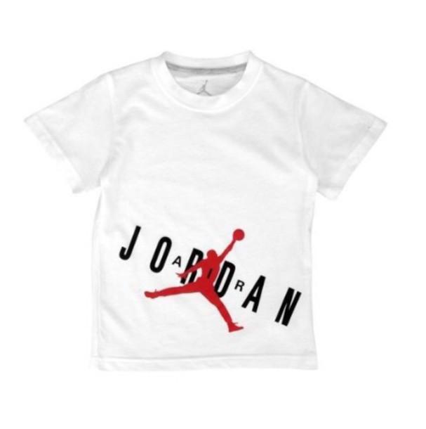 ed312776b3a2 t-shirt red black white jordan shirt