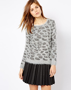 A Wear | A Wear Leopard Jumper at ASOS