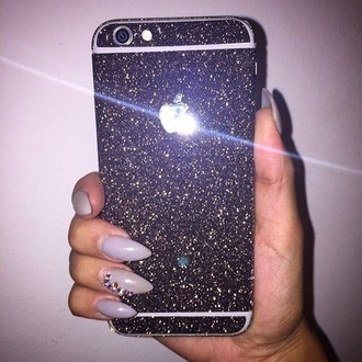 phone cover glitter iphone cover iphone 6 case girly iphone case