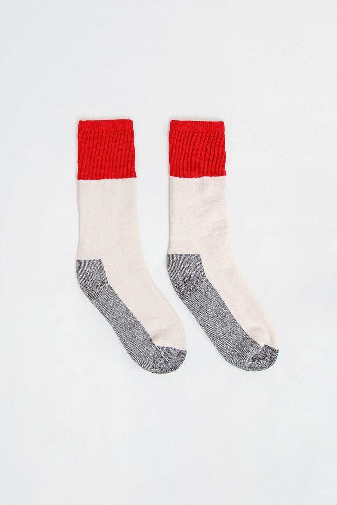 CBLKSOCK - Color Block Boot Sock