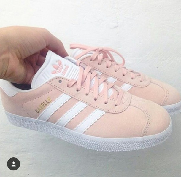 shoes, adidas, pink sneakers, low top