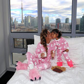 pajamas,mommy and me,mom and me,matching set,twinners,lovely,cute pj,flapjacks,funny,cookies,slippers,baby,little kid,moose,onesie,moose onesies,love,cute,wolf slippers,paw slippers,paw,paws,city,city life,lazy day,lazy day outfit,ootd