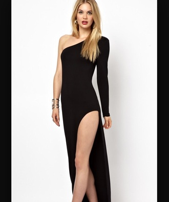 dress slimfit slit