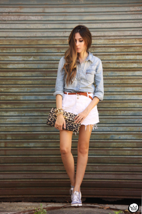 fashion coolture blogger jewels skirt shirt shoes