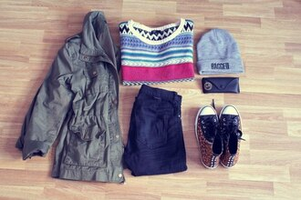shoes jacket hipster top sweater jumper pullover aztec hat beanie grey studded leopard print animal prit chuck taylor all stars vans hot cute