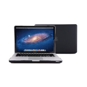 "Amazon.com: GMYLE(R) 2 in 1 - Black Frosted Matte Rubber Coated Rubberized See Thru Hard Snap On Case Skin Cover for Apple 13.3"" inches Macbook Pro - With TPU Transparent Protective Keyboard Cover: Electronics"