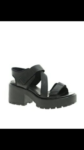shoes sandals black grunge