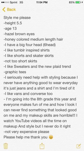 dress style me shirt