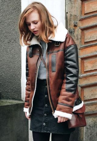 Oversized Vegan Leather Jacket   Poppy Lovers Fashion   ASOS Marketplace