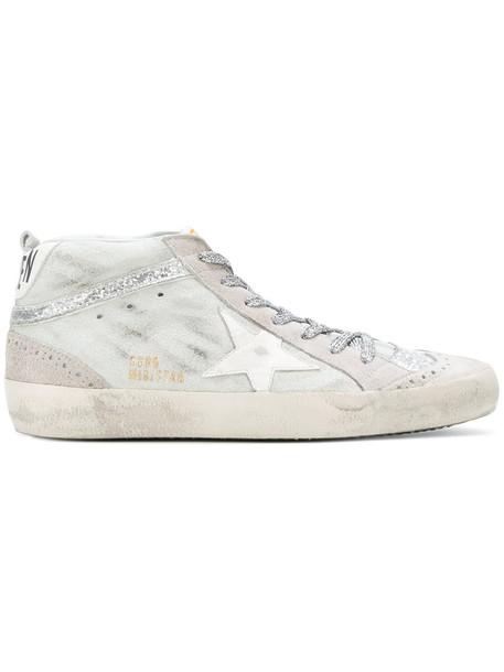 GOLDEN GOOSE DELUXE BRAND women sneakers leather grey shoes