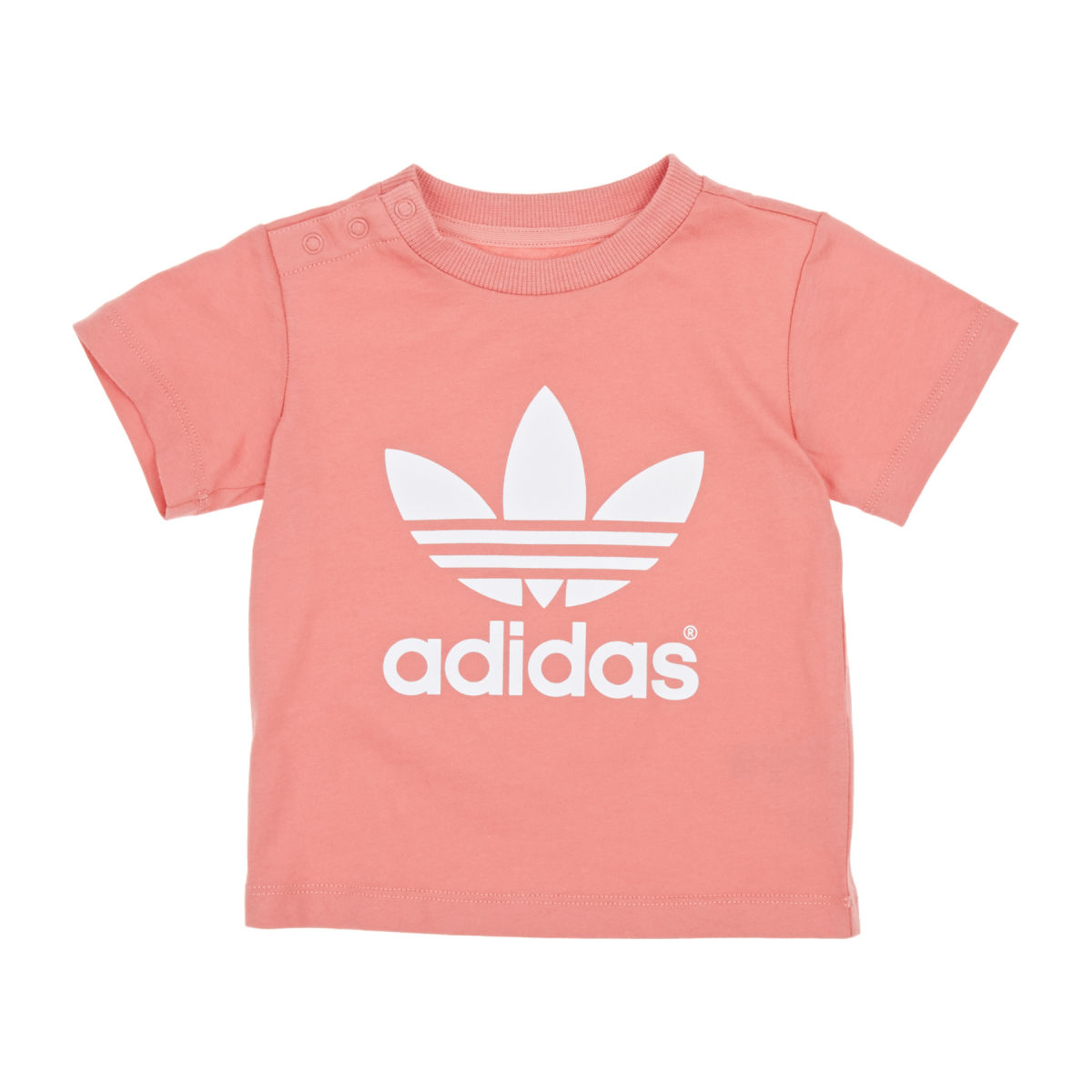 originals Infant Trefoil T-shirt - Peach Pink