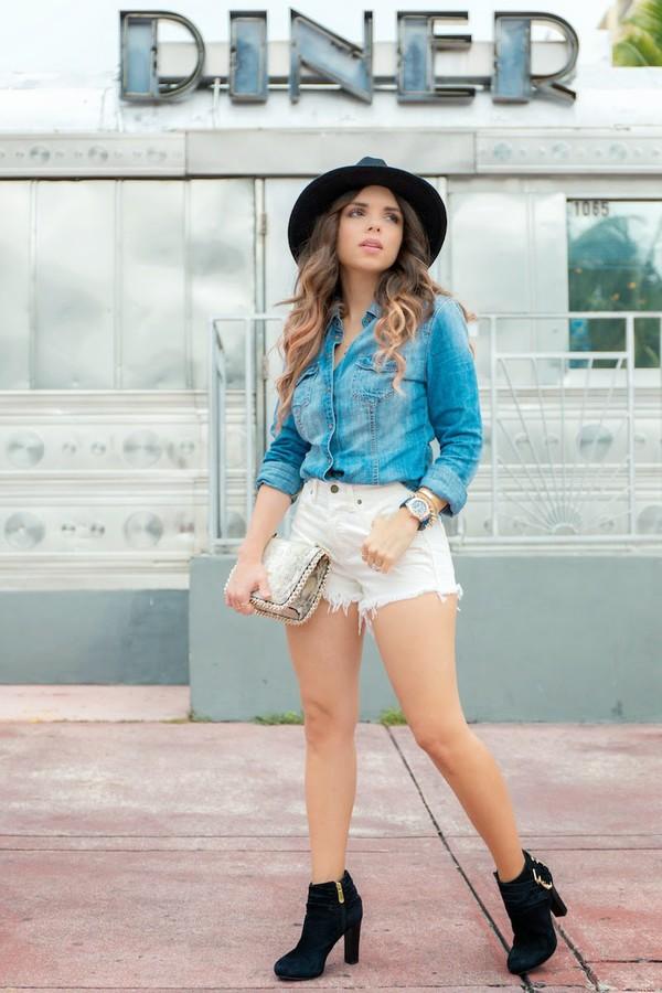 nany's klozet blogger bag jewels shoes shirt shorts hat