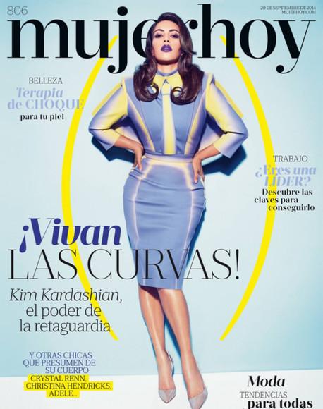 kim kardashian skirt top fashion