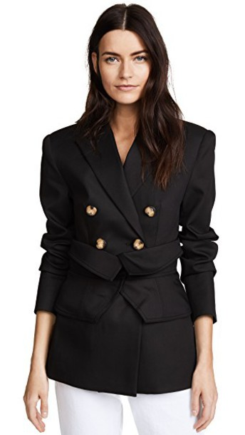 Acler blazer black jacket